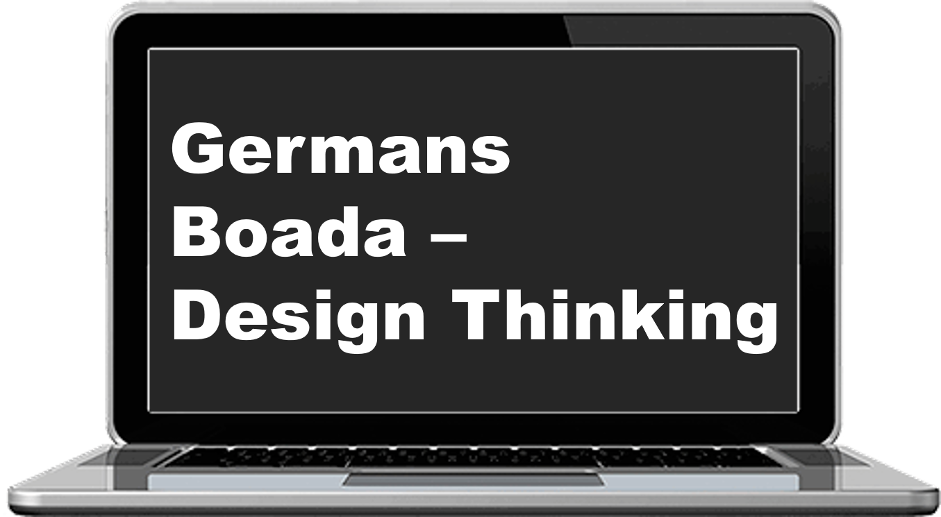 Germans Boada - Design thinking