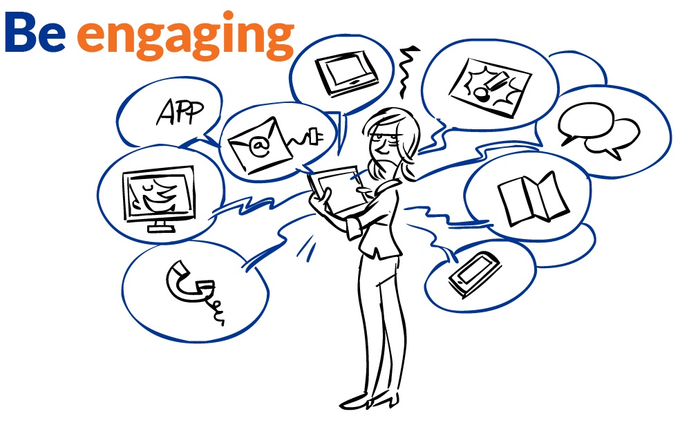 Be engaging  - Mobile