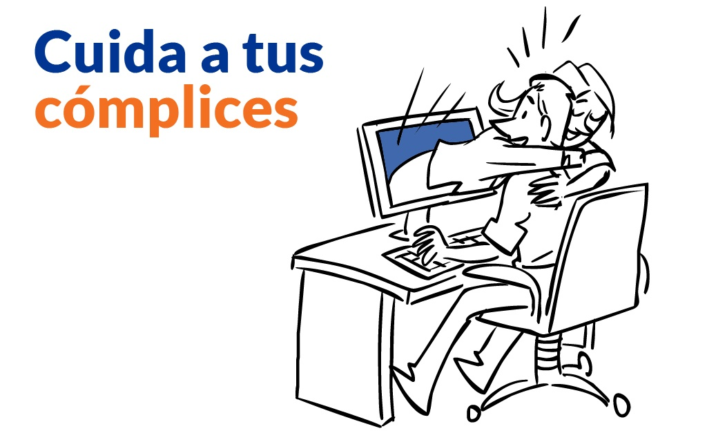 Cuida a tus complices - Digital Employee - Mobile