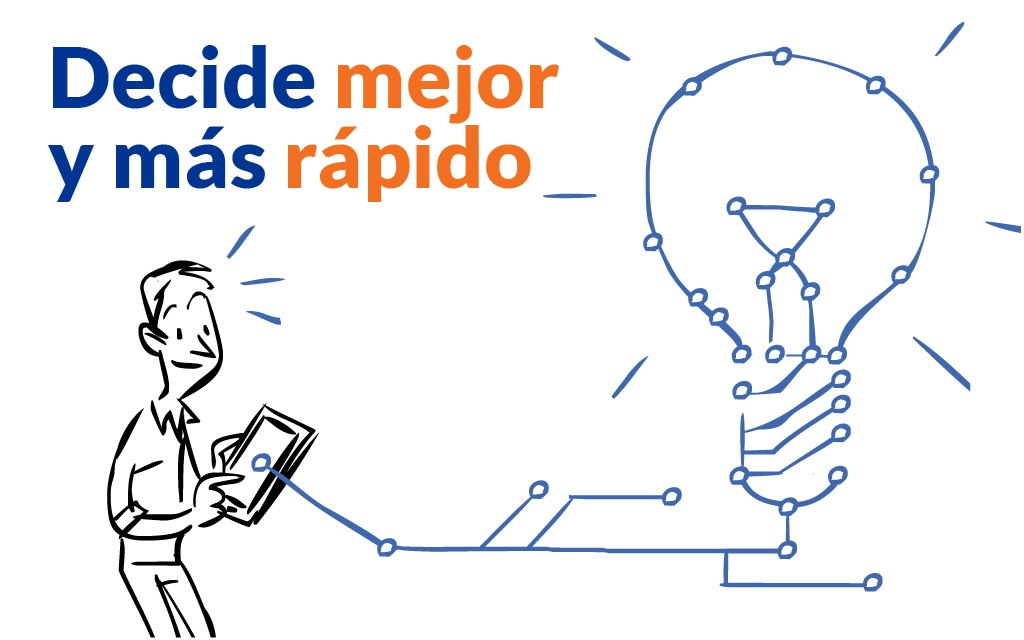 Decide mejor y mas rapido - Innovación e IT - Mobile