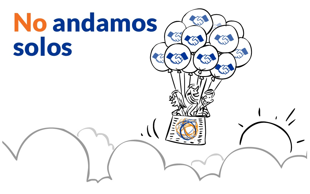 No andamos solos - Partners - Mobile